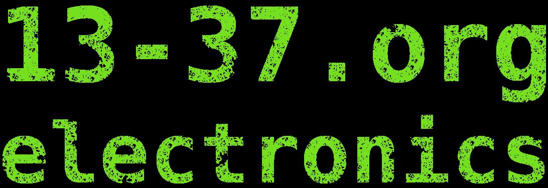 13-37.org electronics